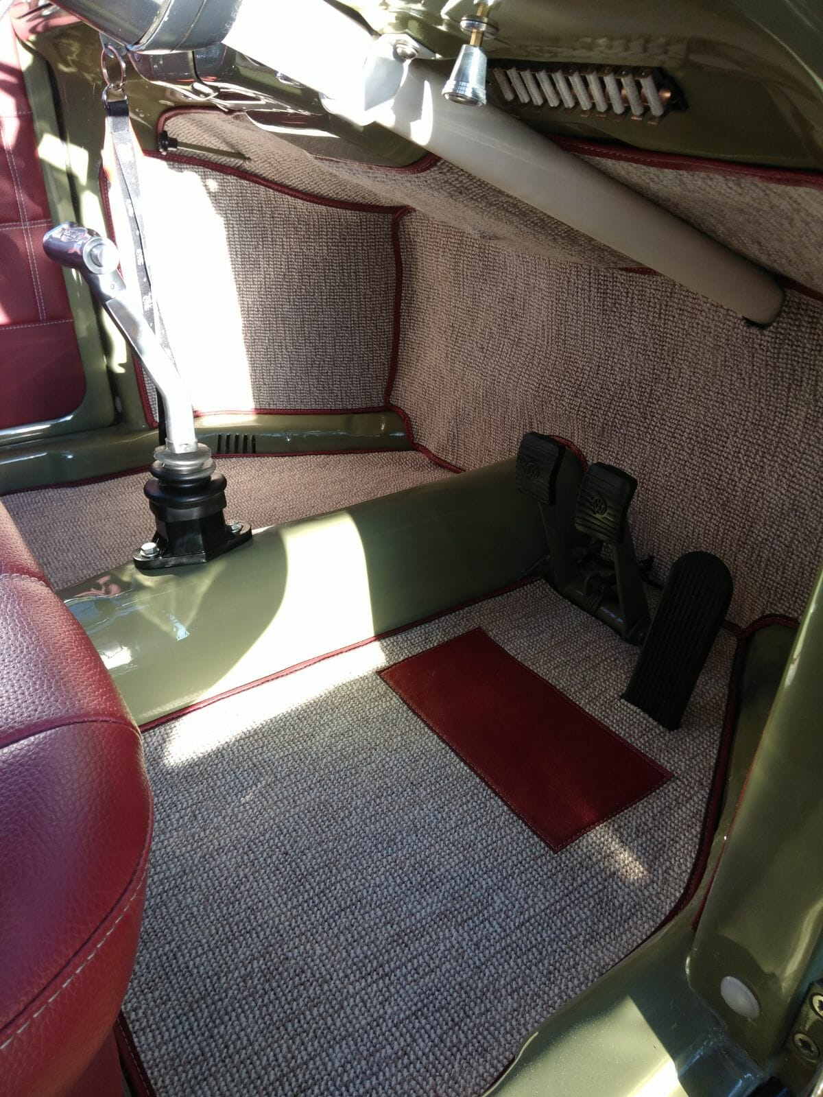 Custom Fit Carpets To 67 Beetle