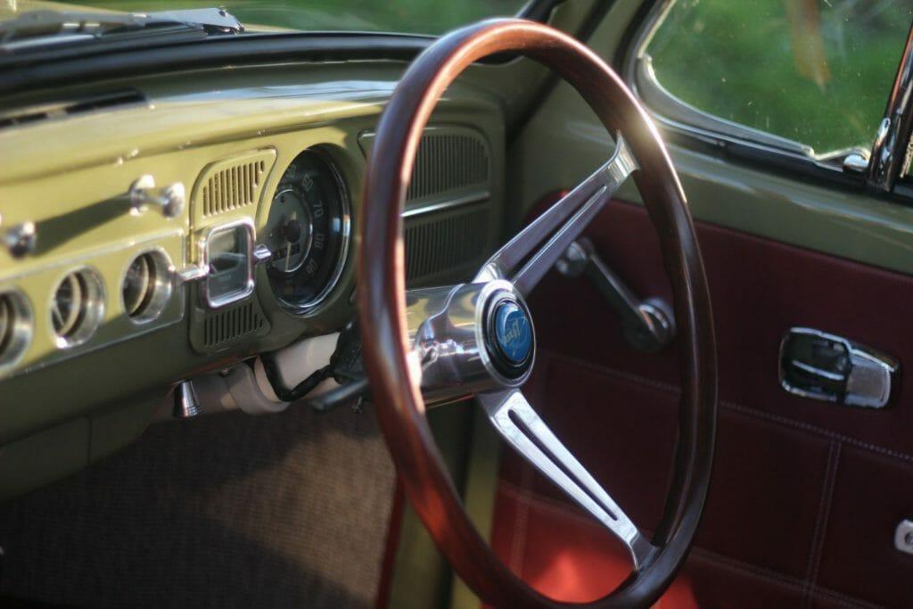 67 beetle orginal sterling wheel