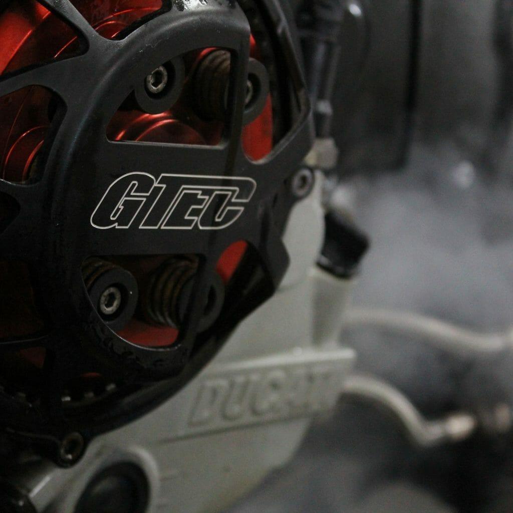Ducati 999 steam clean