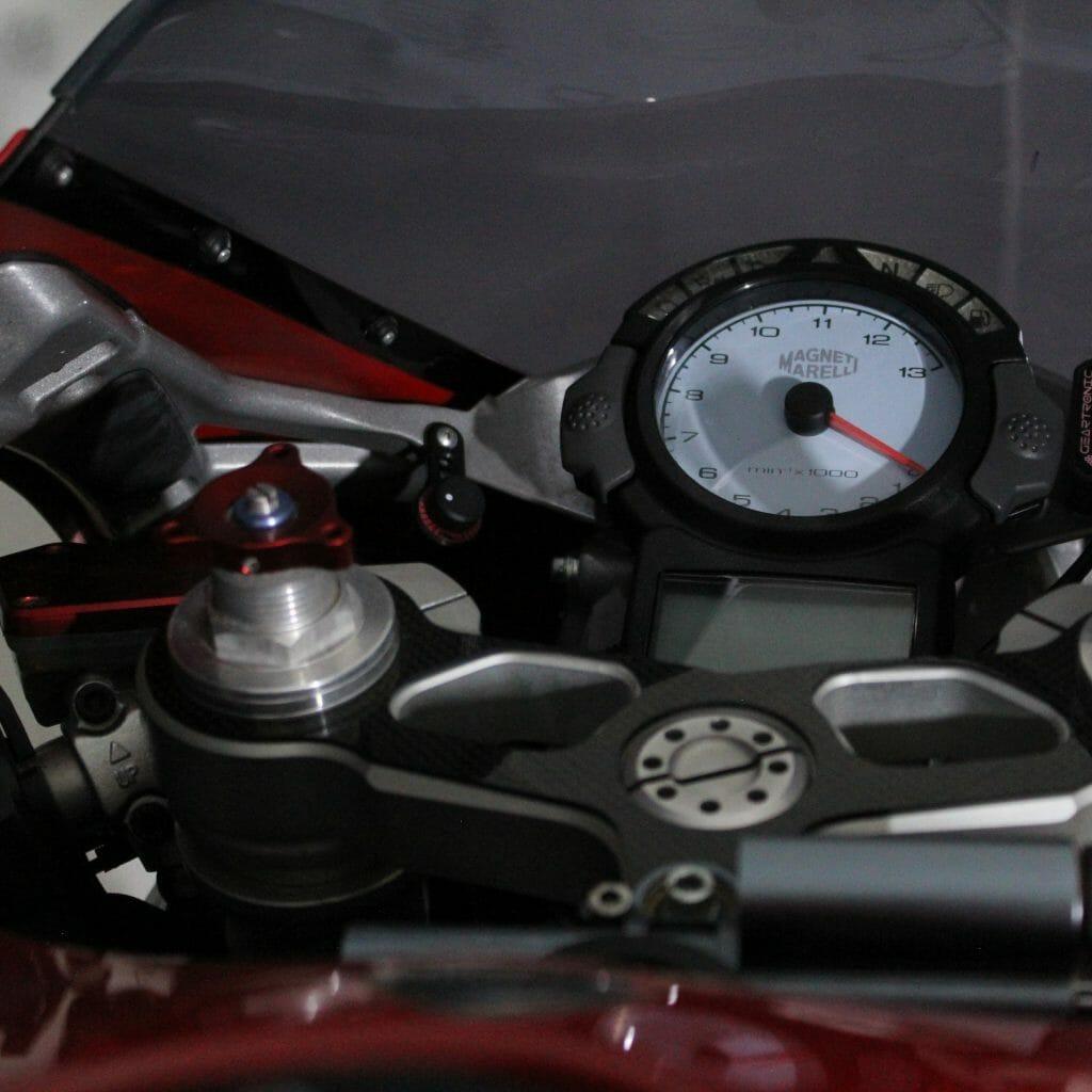 Ducati 999 dash board