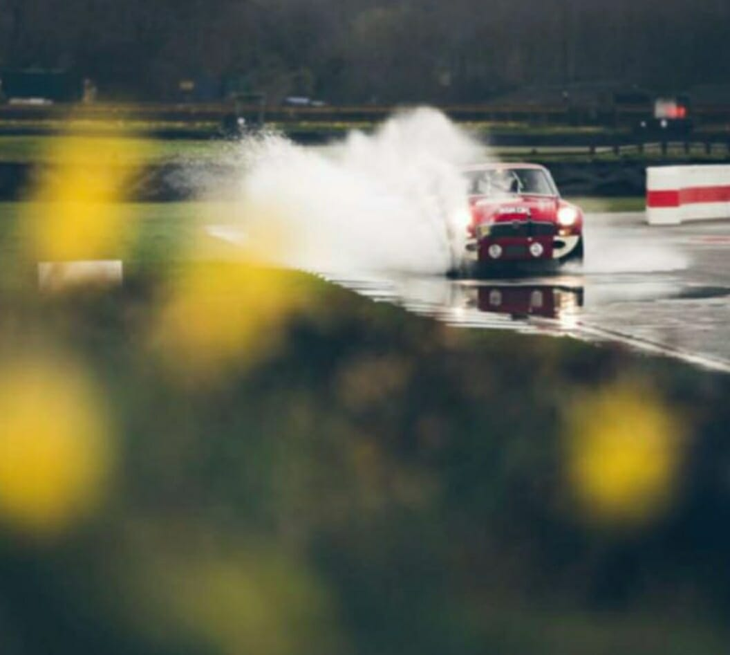 MG racing at Goodwood