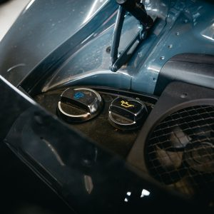 Porsche 911 Dirty Engine Bay