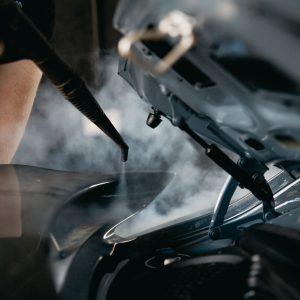 Porsche 911 Steam Cleaned