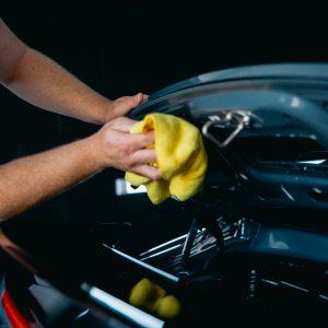 Porsche 911 Dryed After Washing