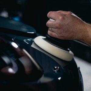 Machine Polishing Porsche 911