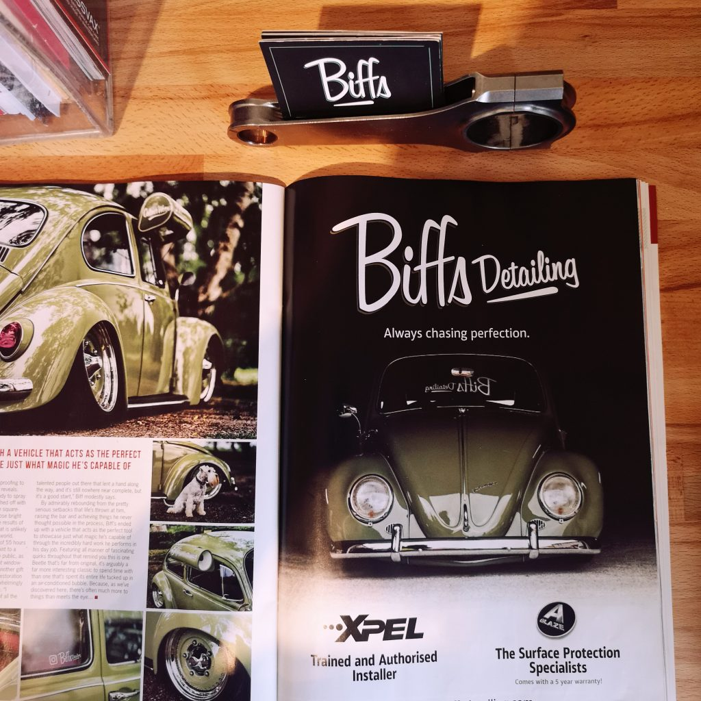 Biffs Detailing Advert In Performance VW