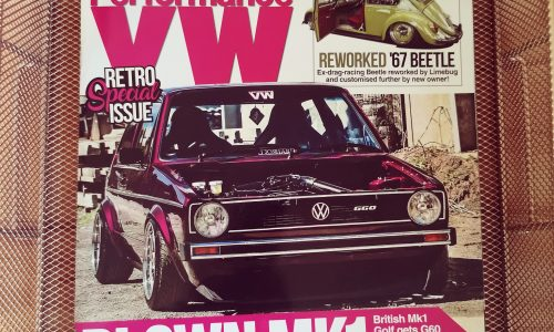 Frount Cover Of Performance VW Magazines
